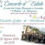 Concerto d'estate a Partanna @ Castello Grifeo - Partanna