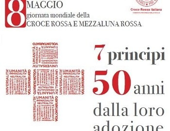 Locandina Settimana Mondiale dellaCroce Rossa - Comitato Regionale della Sicilia