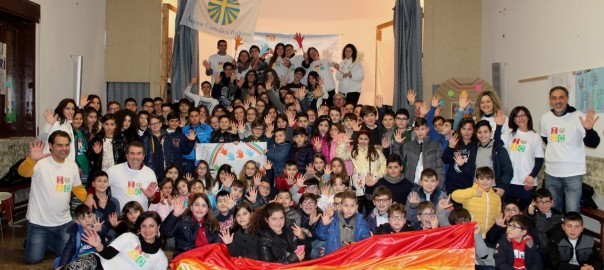 Festa della pace ACR - Foto di gruppo