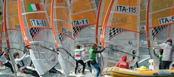 foto regata Coppa Italia windsurf