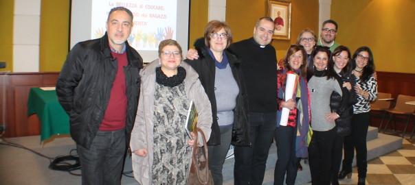 Foto di gruppo con Equipe ACR