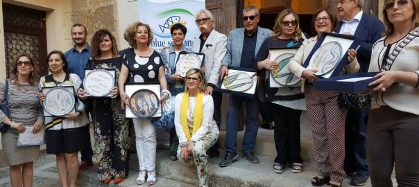 Premio Vela Blue Sea Land 2016_I Dirigenti delle scuole di Mazara con il Sindaco Nicola Cristaldi ed il Pres Distretto Giovanni Tumbiolo