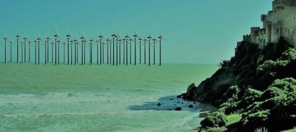 Centrale eolica golfo di Gela