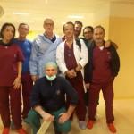 Cacciapuoti e equipe ospedale Marsala (1)