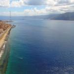 Lo Stretto di Messina visto col drone