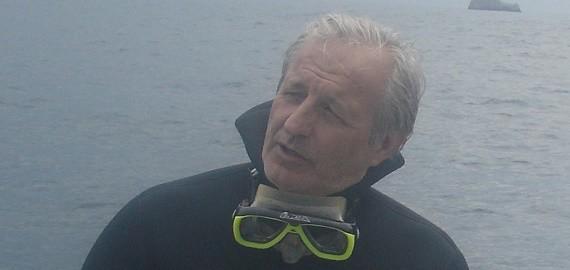 Gaetano Lino Responsabile Gruppo Subacqueo BCsicilia