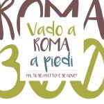 Copertina libro Vado a Roma a piedi