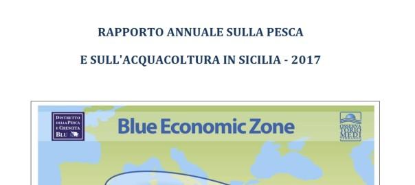 Foto-copertina Rapporto Pesca Acquacoltura Sicilia - 2017