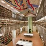 MONCADA, soffitto Biblioteca Palazzo Branciforte (Palermo)