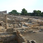 Agrigento quartiere romano