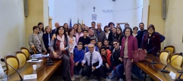 Partanna, amministratori locali con docenti e alunni del D'Aguirre