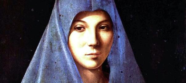 Antonello da Messina, Vergine annunciata, 1475-1476. Tempera e olio su tavola,45 x 34,5 cm. Galleria Regionale della Sicilia di Palazzo Abatellis, Palermo (1)