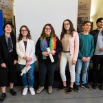 i vincitori. Tiziana Bologna, Benedetta Scerra, Miriana Vona, Nalin Fuschi, Giuseppe Lo Forte, Giuseppe Mangione