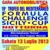 19° Trofeo del mediterraneo Formula Challenge  Sicily Cup. I vincitori della 2° prova