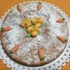 TORTA DI CAROTE CON CREMA FROSTING