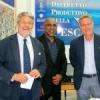 Conclusa la tappa mazarese della visita in Sicilia del Ministro delle Maldive che è stato intrattenuto da Paolo Bonolis