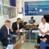 Il Viceministro per la Pianificazione Industriale e Coordinatore  per i Distretti Industriali del Venezuela, Ramon Rosales  in visita al Distretto della Pesca siciliano